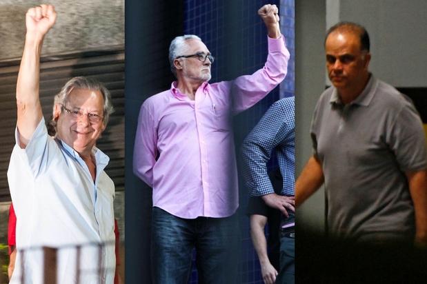 """Condenados do """"mensalâo"""" tentam se passar por presos políticos"""