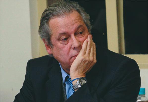 José Dirceu teria recebido propina da Petrobras até na cadeia