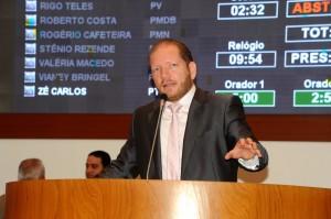 Deputado levou, mais uma vez, ao plenário o assunto da crise na Segurança Pública