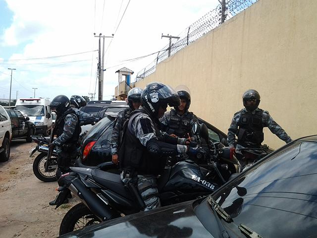 Militares reforçam Segurança na Penitenciária de Pedrinhas