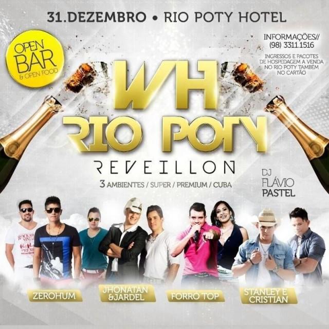 Rèveillon cheio de atrações no Rio Poty Hotel