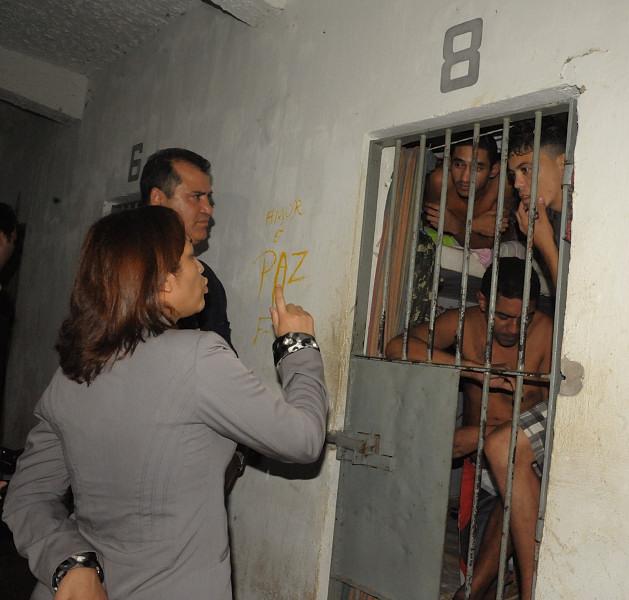 Deputada Eliziane Gama visitou Penitenciária de Pedrinhas