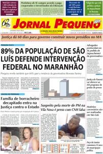Capa do Jornal Pequeno