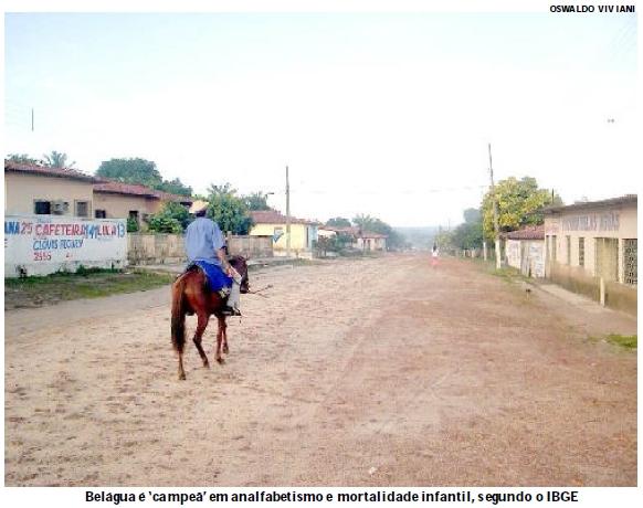Belágua, no Maranhão, é retrato da miséria brasileira