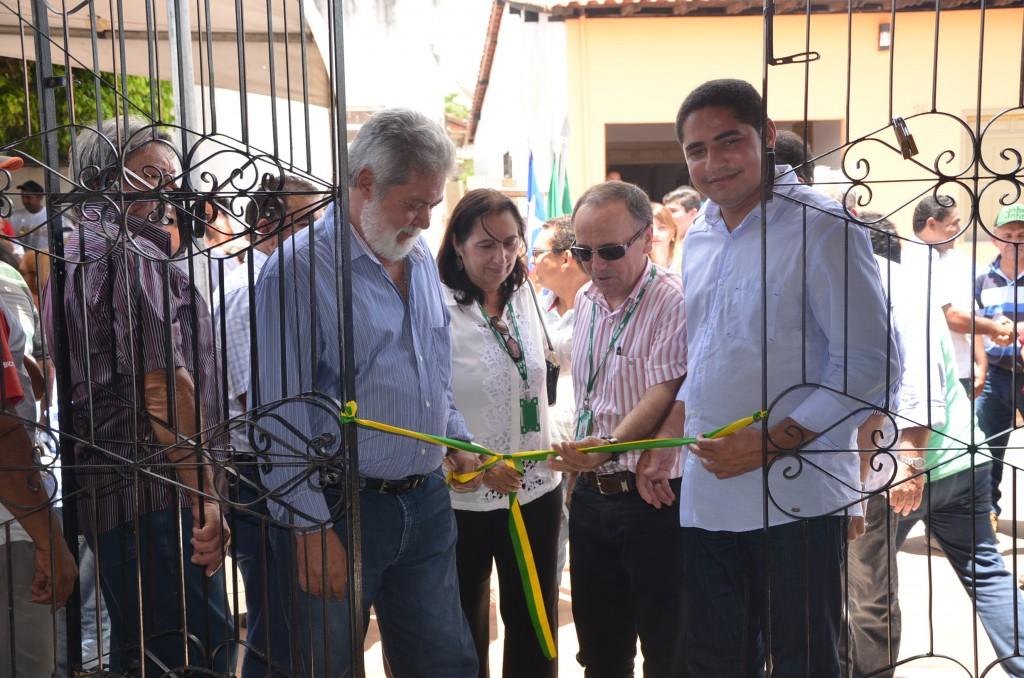 Superintendente do Incra,  Zé Inácio Rodrigues, durante a inauguração