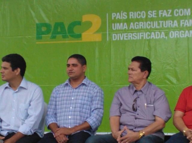 Superintendente do Incra, Zé Inácio Rodrigues, participou da solenidade