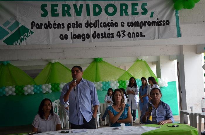 Zé Inácio reuniu servidores e comunicou saída do Incra para disputar eleições