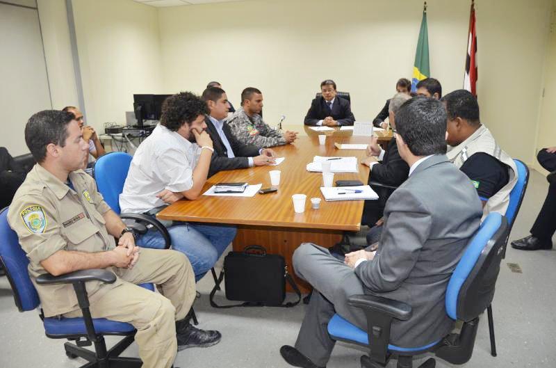 A reunião ocorreu na Sede da Justiça Federal, em São Luís