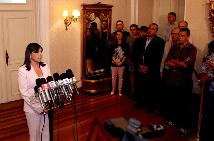 Governadora abre mão de disputar o Senado e fica no governo até o final do mandato