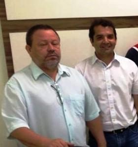 Chico Leitoa com Hilton Gonçalo