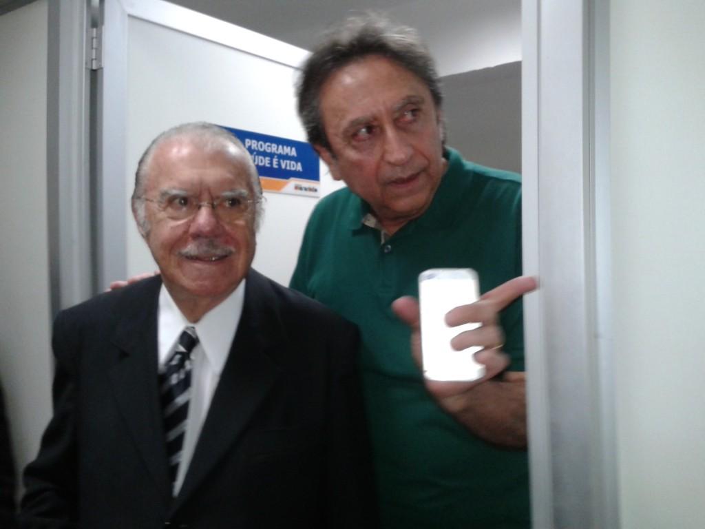 Durante inauguração, Sarney destacou trabalho de Ricardo Murad à frente da SES