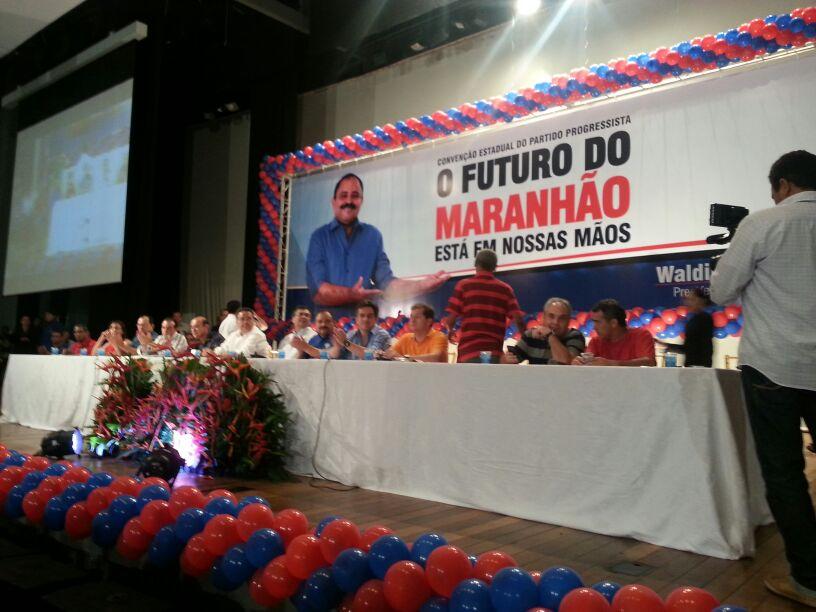 Convenção do PP confirmou candidatos à Câmara e à Assembleia e reafirmou apoios a Flávio Dino e Dilma Rousseff