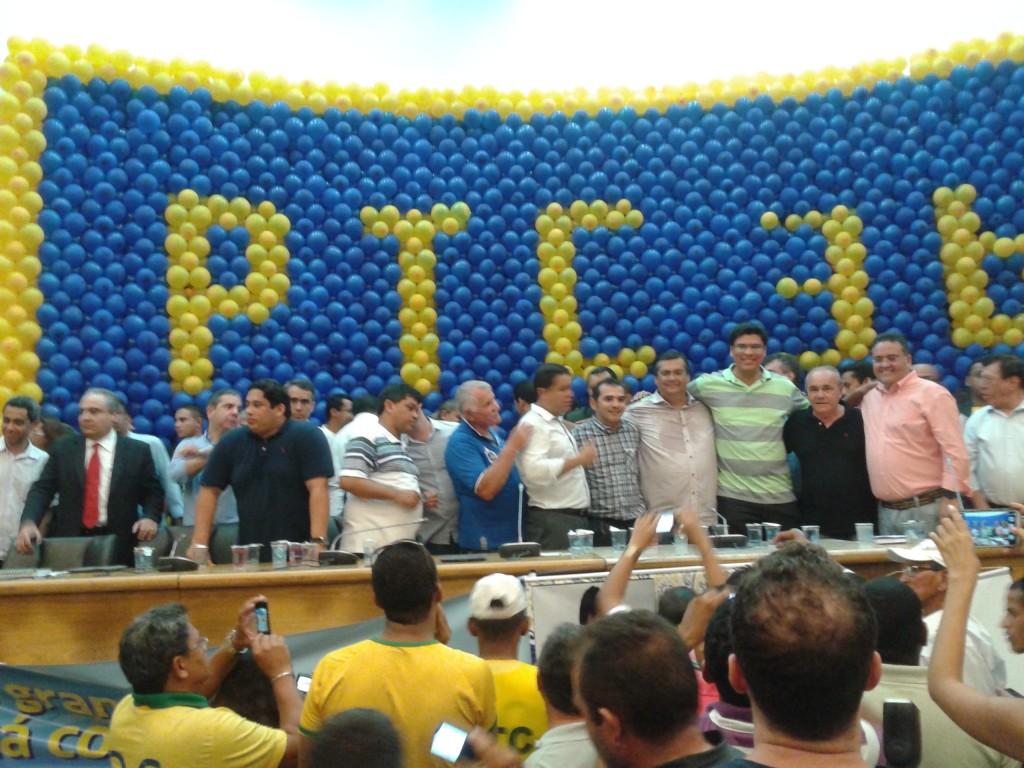 PTC realizou grande convenção, no auditório Fernando Falcão da Assembleia