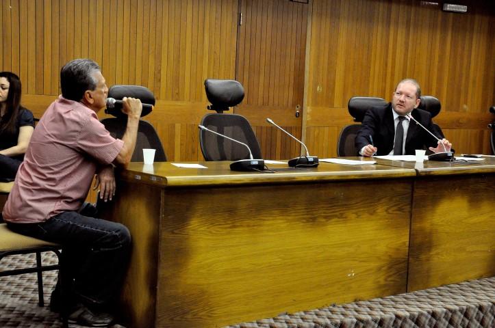 O empresário Osvaldo Salomão também foi ouvido pela CPI