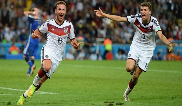 Seleção alemã fez uma bela campanha e faturou o título de campeã do mundo