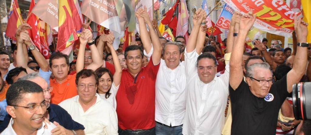 Eduardo Campos iniciou atividades de campanha pelo Maranhão