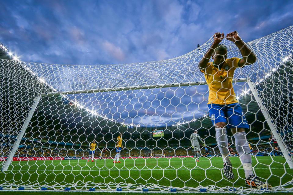 Foto Yahoo: Brasil foi humilhado, dentro de casa, com goleada histórica
