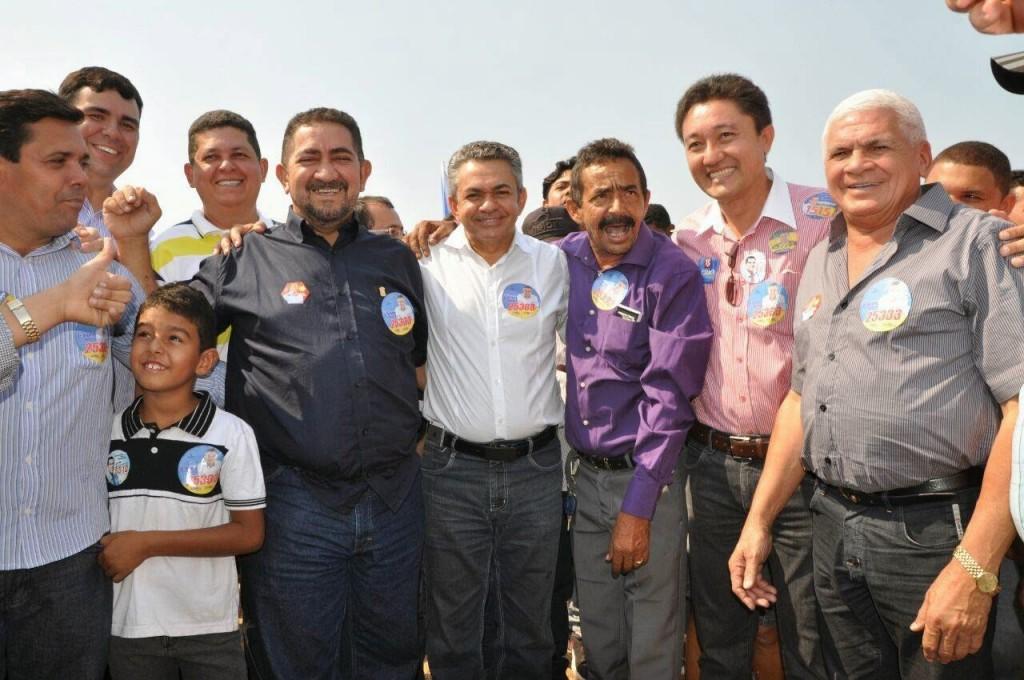 Antonio Pereira faz campanha em Grajaú e ianaugura comitê
