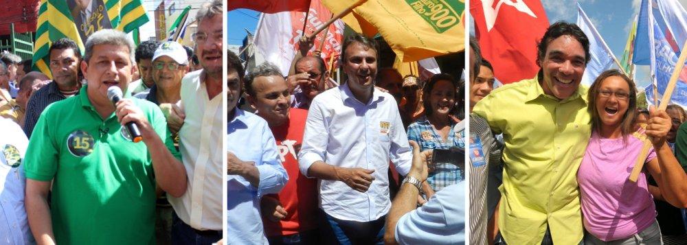 Brasil 247 fez comparativos entre candidatos a governador de outros estados