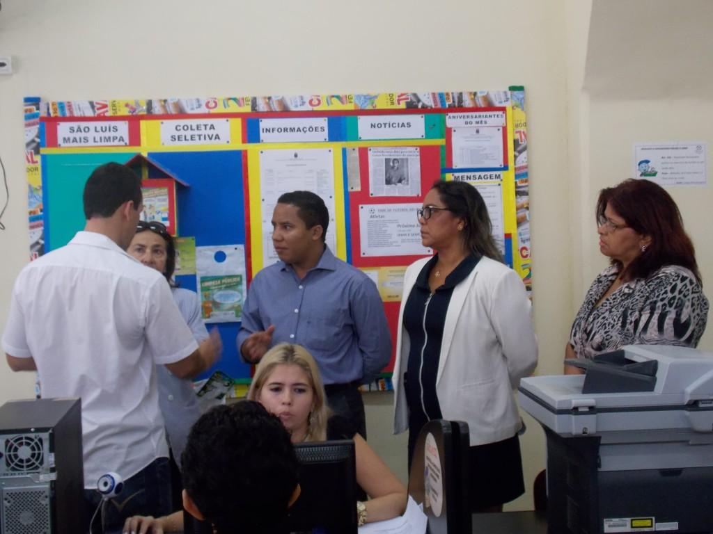 O presidente do Ipam, Raimundo Penha, acompanhou o primeiro dia de trabalhos do Censo Previdenciário nos postos de atendimento