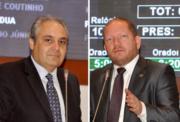Marcelo Tavares e Othelino levaram o assunto para a tribuna