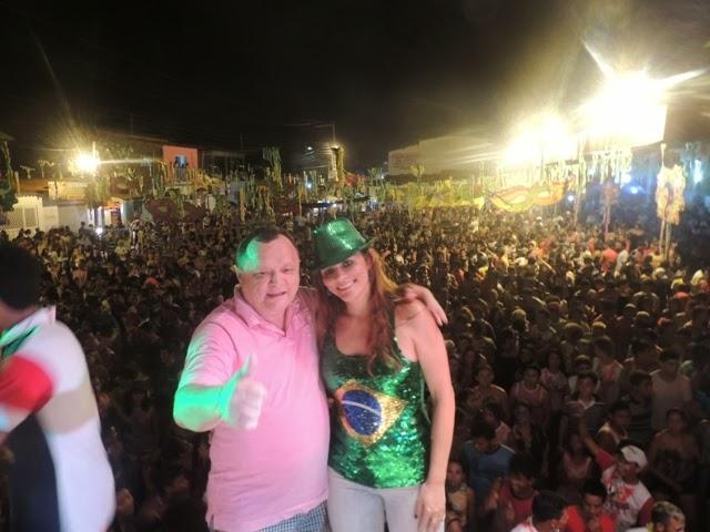 Prefeita Carmem Silva com Paulo Neto