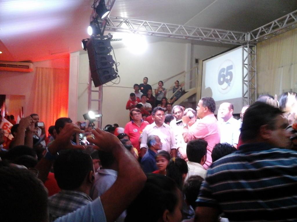 Roberto Rocha participou de  promovido por Edivaldo Jr