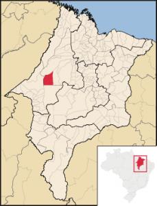 Mapa Bom Jesus das Selvas