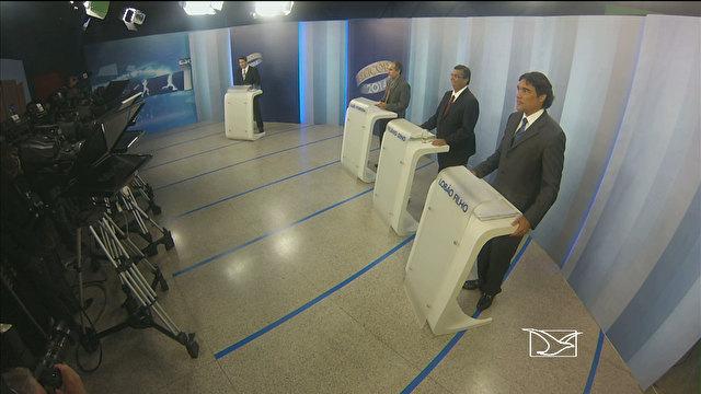 Debate entre candidatos na Mirante pouco acrescentou para o eleitorado