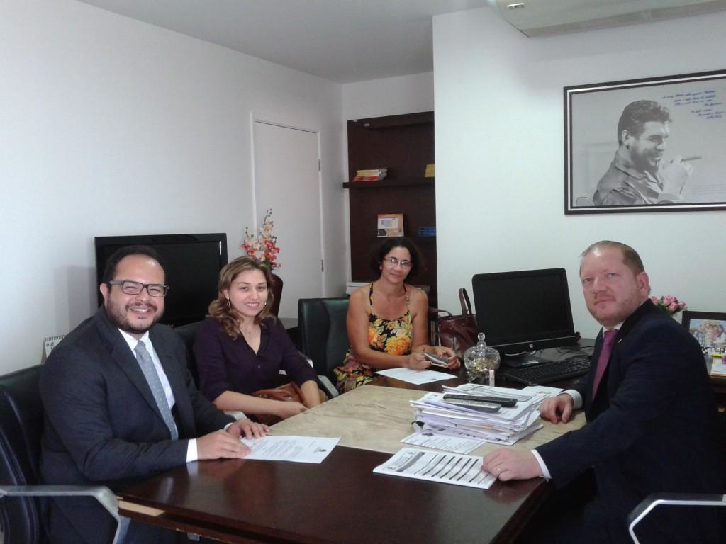 Psicólogos também se reuniram com Othelino Neto e disseram que vão pedir ao Executivo a sanção da Lei