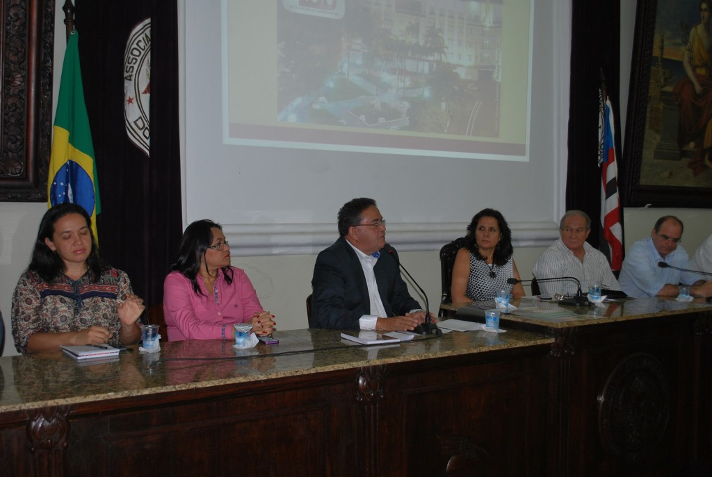 Senador eleito participou de evento na Associação Comercial do Maranhão