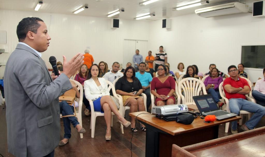Durante o evento, o presidente do Ipam, Raimundo Penha, ressaltou a importância do treinamento para o órgão previdenciário