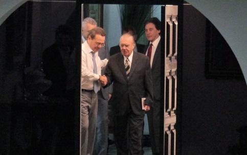 """Sem corar a face, José Sarney se despediu  do Senado dizendo que deixa o Maranhão """"na vanguarda do País"""""""