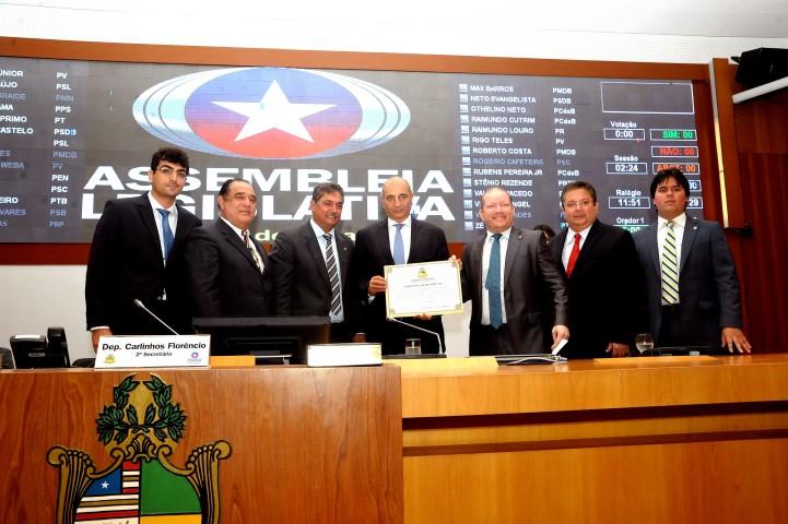 Raul Cutait recebeu Título de Cidadão Maranhense