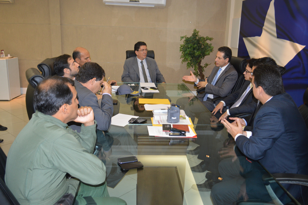 Reunião discutiu investigação para a ação criminosa em Buriti