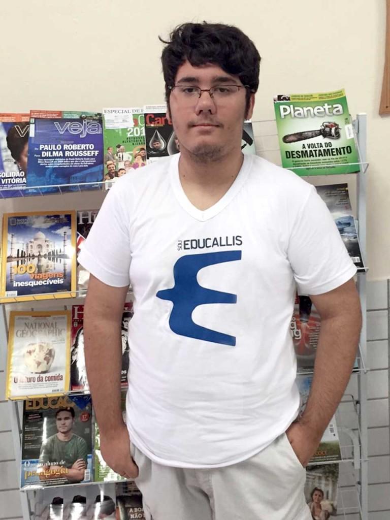 O estudante Matheus Andrade foi o único maranhense a alcançar pontuação máxima na redação do Enem