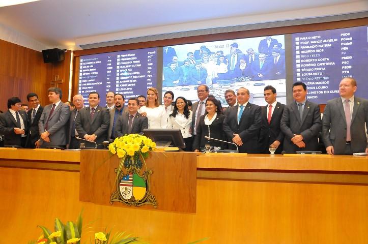 Deputados  elegeram a nova Mesa Diretora da Assembleia Legislativa