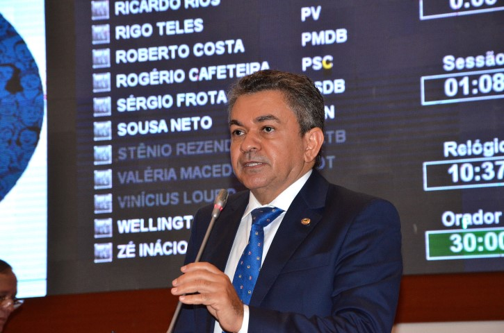 Antonio Pereira participou da primeira reunião da Comissão de Assuntos Econômicos da Assembleia