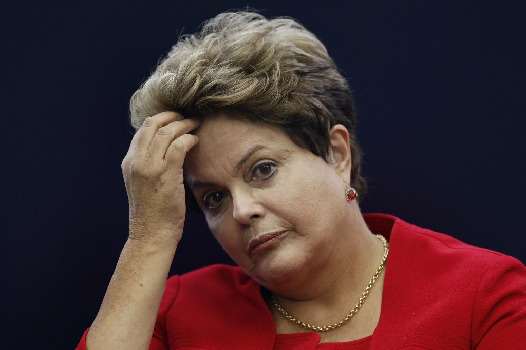 Dilma Rousseff em situação delicada