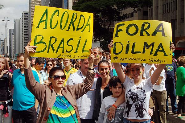 m São Paulo, o movimento impachement foi gigante