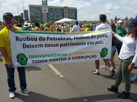 Em São Paulo, o movimento impachement foi gigante