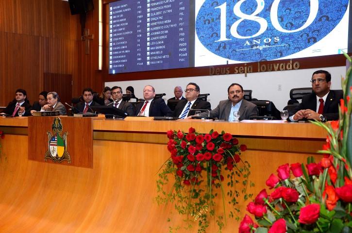 Sessão solene na Assembleia marcou os 93 anos do PCdoB