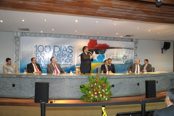 Governador descreveu ações do novo governo do Maranhão