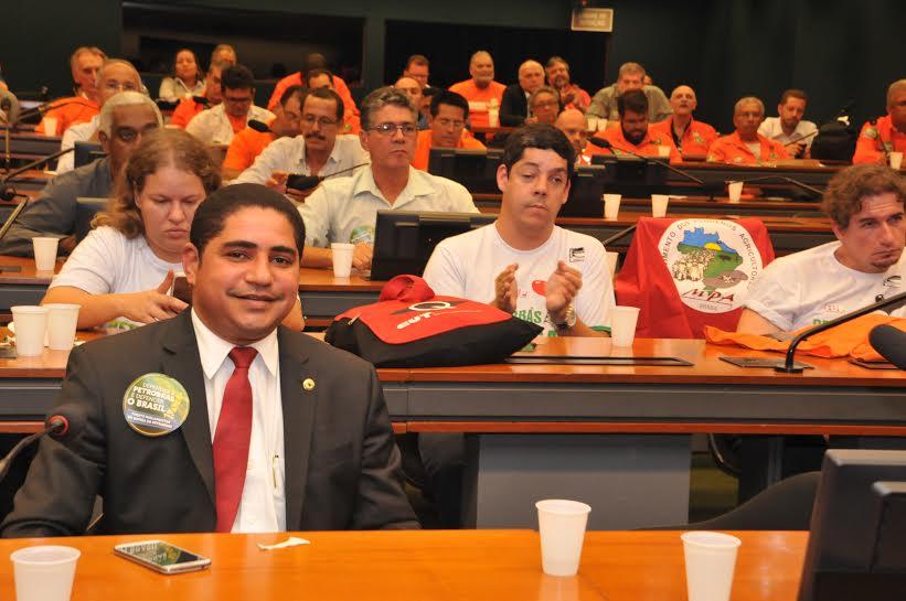 Deputado Zé Inácio participou da Frente Parlamentar em Defesa da Petrobras