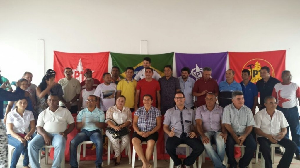 O deputado estadual Zé Inácio participou do evento político