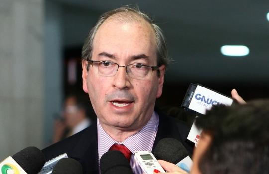 Presidente da Câmara, deputado Eduardo Cunha