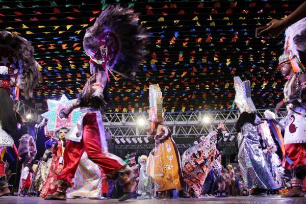 Atrações movimentaram  a abertura da festa junina, na Maria Aragão