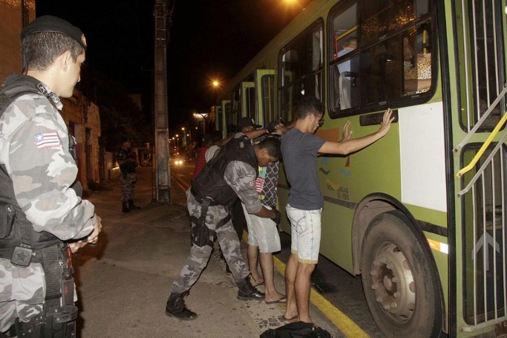 Operação tem como objetivo reduzir o índice de assaltos nos ônibus