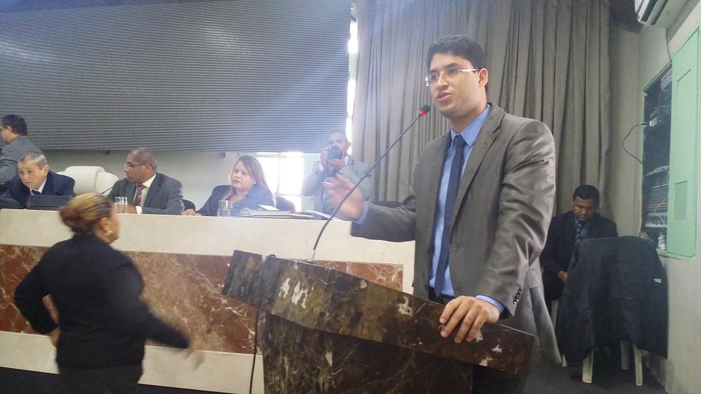 Vereador Roberto Rocha Júnior