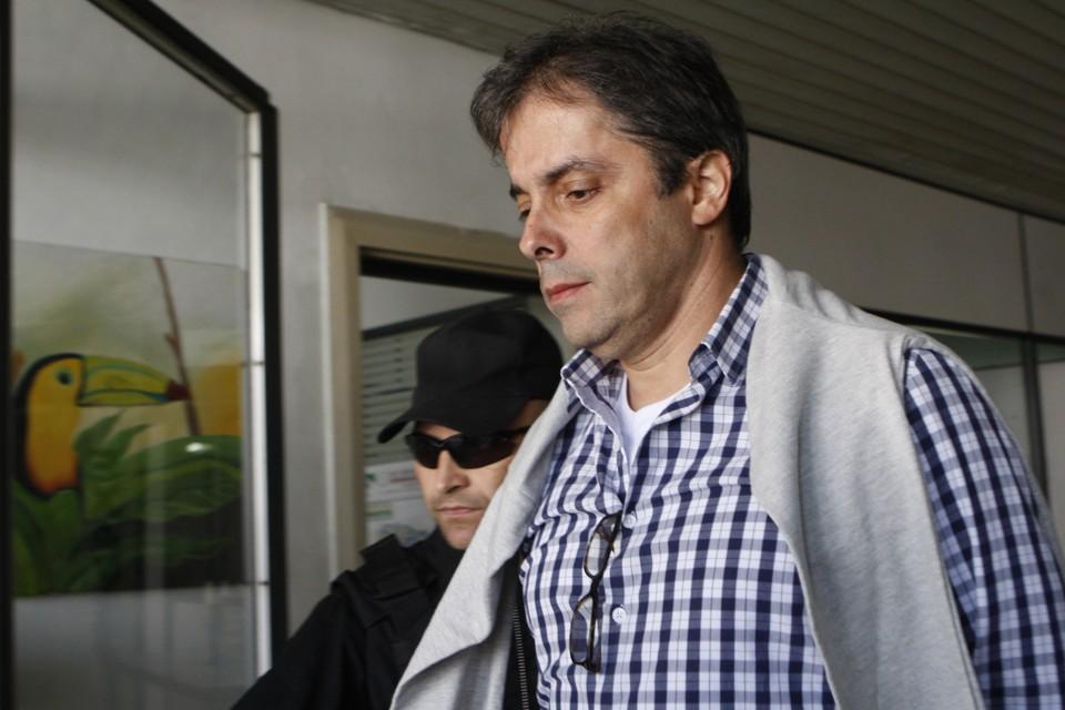 """Flavio Barra prestou depoimento na manhã desta quinta-feira: """"contribuição"""" para Edison Lobão."""